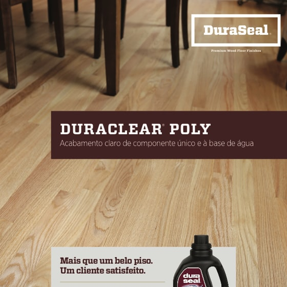DuraClear Sell Sheet - Portuguese