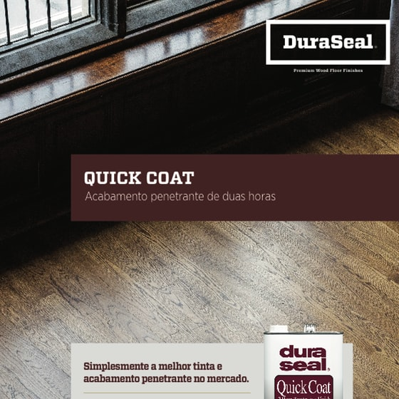 Quick Coat Sell Sheet - Portuegese