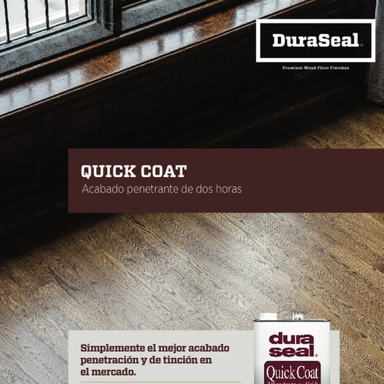 Quick Coat Sell Sheet - Spanish